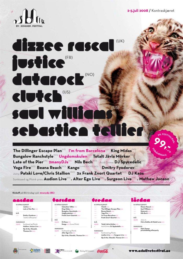 Ploink & SunkissedOslo Live Festival01.07.08 – 04.07.08, OsloVarious Artists