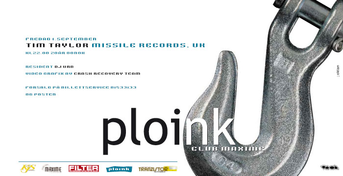 Ploink at Maxime<br>Autumn 2000, Bergen<br>Various Dates &#038; Artists