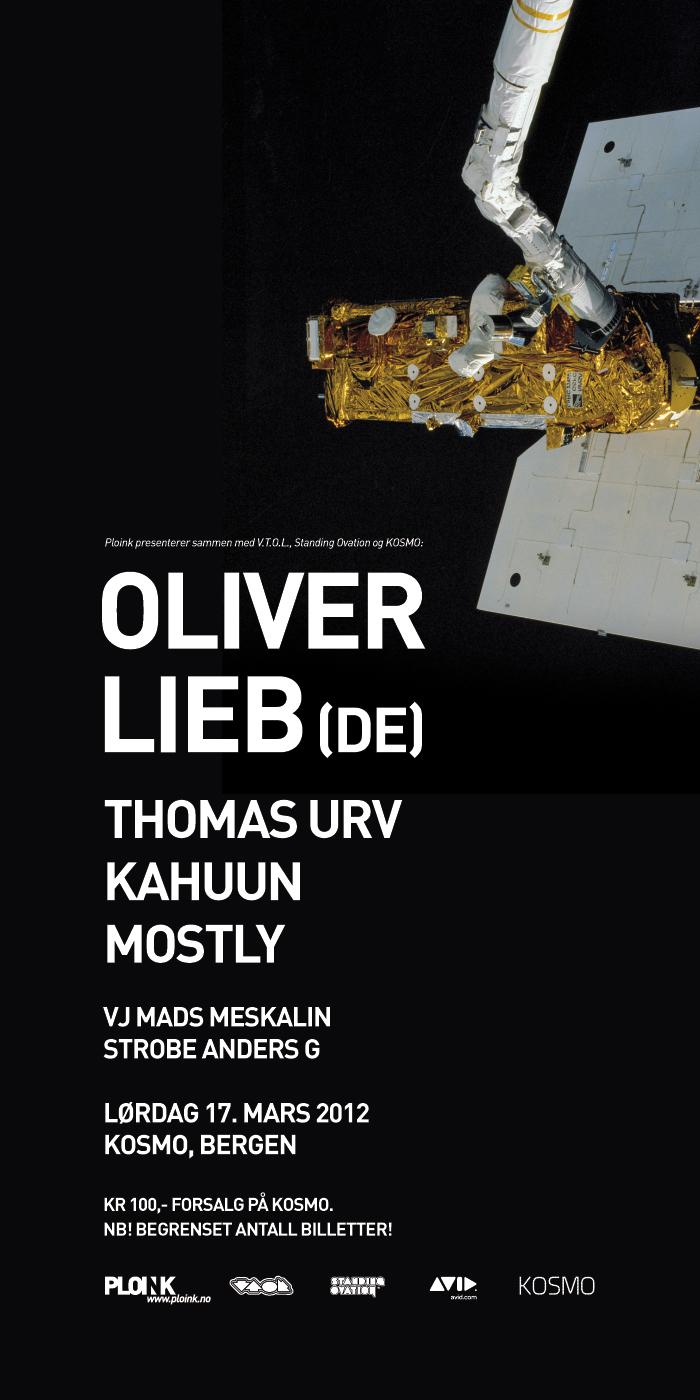 Oliver Lieb<br />17.03.12, Bergen