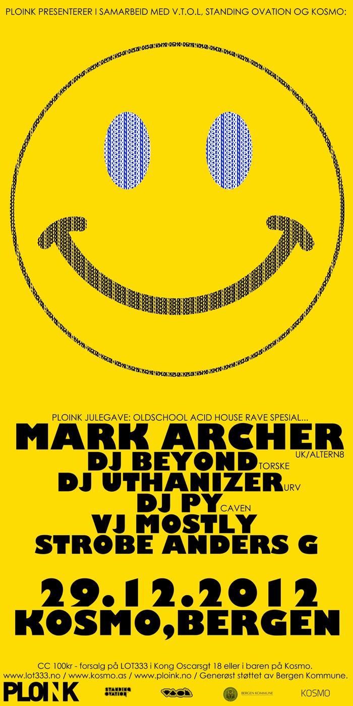 Mark Archer<br />29.12.12, Bergen